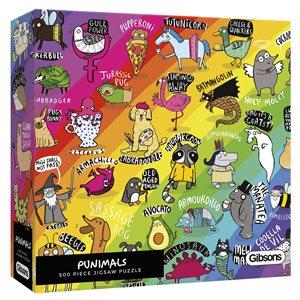 Puzzle: 500 Punimals