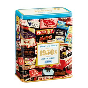 Puzzle: 500 1950S Sweet Memories Gift Tin