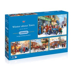 Puzzle: 500 Winter About Town (4 Puzzles)