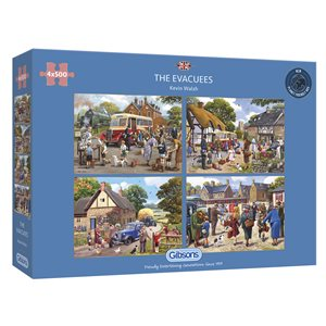 Puzzle: 500 The Evacuees (4 Puzzles)