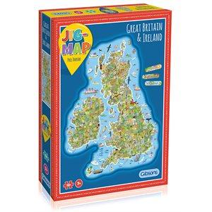 Puzzle: 150 Jigmap - Great Britain & Ireland