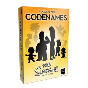 Codenames: The Simpsons (No Amazon Sales)