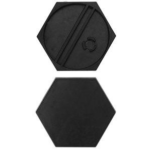 Aristeia: 30mm Hexagonal Bases (10)