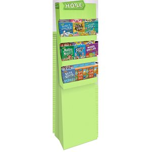 Hoyle 8 SKU Power Wing Display with Games
