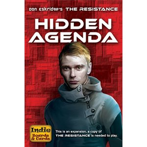 Resistance Hidden Agenda (No Amazon Sales)