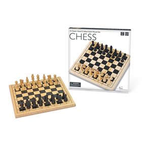 """Wooden Chess 11.5"""""""