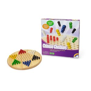 Wooden Chinese Checkers 11.5""