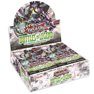 Yugioh: Battle of Legends Heros Revenge Booster