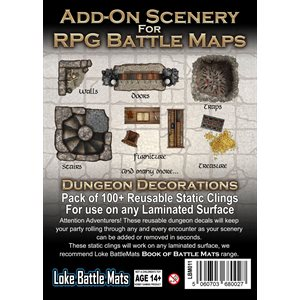 Add On RPG Maps Dungeon Decorations (No Amazon Sales)