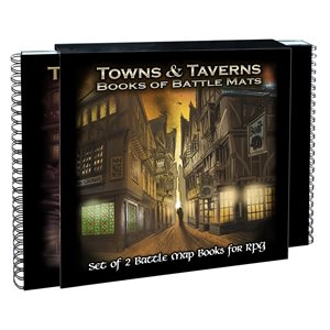 Towns & Taverns Books of Battle Mats (No Amazon Sales)