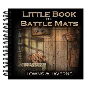 Little Book of Battle Mats Towns & Tvrns (No Amazon Sales)