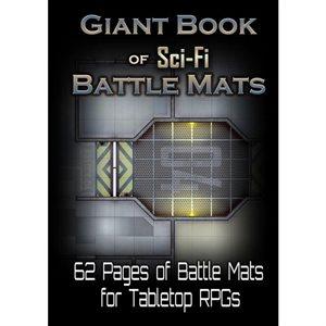 Giant Book of Sci-Fi Battle Mats (No Amazon Sales)