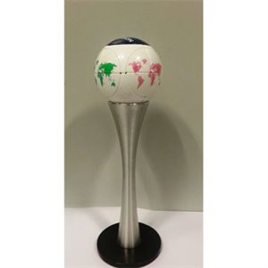 Marusenko Sphere Single Aluminum Cup Display