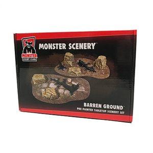 Monster Scenery: Barren Ground (No Amazon Sales)