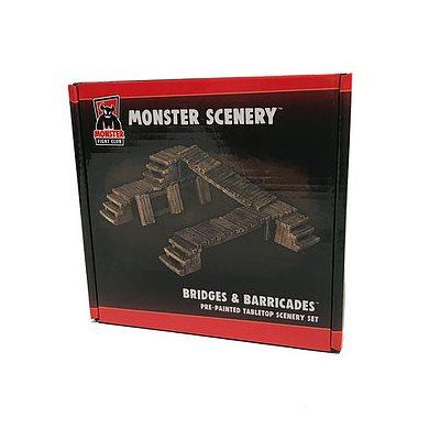 Monster Scenery: Bridges & Barricades (No Amazon Sales)