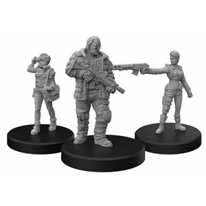 Cyberpunk Red Miniatures: Edgerunners D (Solo - Nomad - Media) (No Amazon Sales)