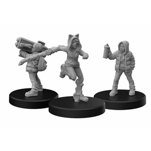 Cyberpunk Red Miniatures: Generation Red B (No Amazon Sales)
