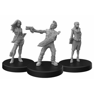 Cyberpunk Red Miniatures: Rockers A (No Amazon Sales)