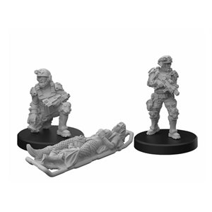 Cyberpunk Red Miniatures: Trauma Team A (No Amazon Sales)