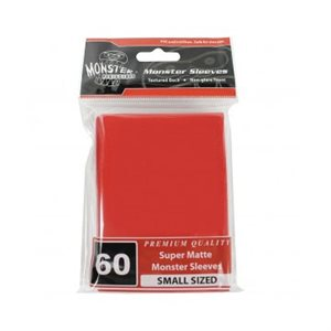 Sleeves: Yugioh Monster Matte Red