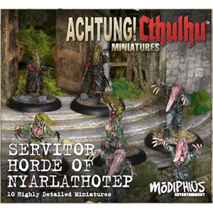 Achtung! Cthulhu Miniature Game: Cthulhu - Servitor Horde of Nyarlathotep Unit Pack (8)