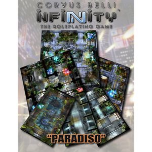 Infinity: Paradiso Geomorphic Tile Set (Infinity RPG Access)