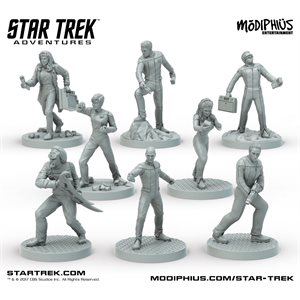 Star Trek Adventures: Next Generation Minis Box Set