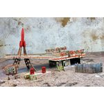Fallout: Wasteland Warfare: Red Rocket Scenic Set