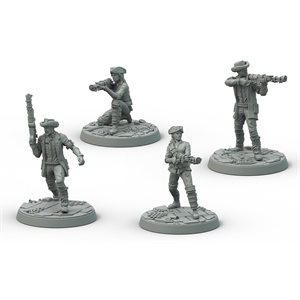 Fallout: Wasteland Warfare: Survivors Minutemen Posse