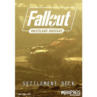 Fallout: Wasteland Warfare: Settlement Deck
