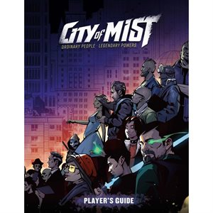 City of Mist RPG: Players Guide (Core) (BOOK)