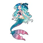 Mermaid Interactive Wall Decal