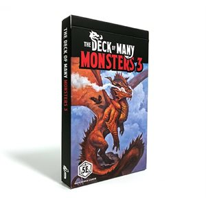 The Deck Of Many: Monsters 3 (No Amazon Sales)