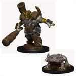 Wardlings RPG figure (Painted) Wave 4: Mud Orc & Mud Puppy