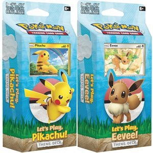Pokemon: Lets Play, Pikachu / Eevee Theme Decks