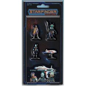 Starfinder Minis: Iconic Heroes Set #1