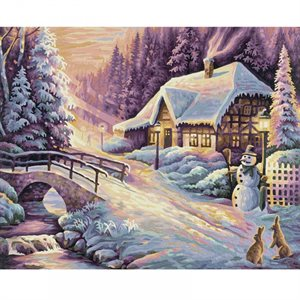 Paint by Numbers: Winter (Multi)