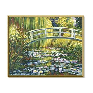 Paint by Numbers: Lily Pond (Multi)