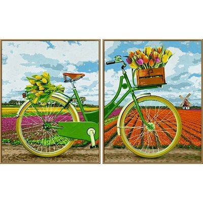 Paint by Numbers: Dutch Bike