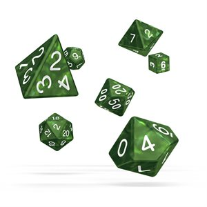 Marble: Green 7pc RPG Set
