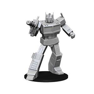 Transformers Deep Cuts Unpainted Miniatures: Optimus Prime ^ Dec 2019