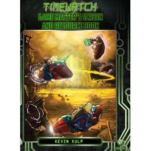 Timewatch RPG: GM Screen (BOOK)