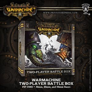 Warmachine Two Player Battlebox