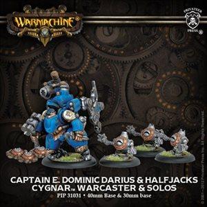 Cygnar: Captain E Dominic Darius