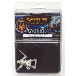 Cygnar: Arcane Tempest Gun Mage Officer