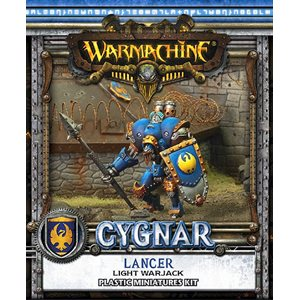 Cygnar: Lancer Light Warjack (Plastic)