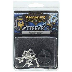 Cygnar: Captain Allison Jakes