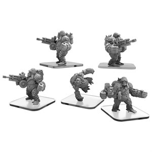 Monsterpocalypse: Protector Ape Gunners & Infiltrators (metal)