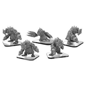 Monsterpocalypse: Mollock Brutes & Mollock Berserker (metal)