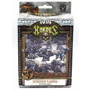 Trollbloods: Northkin Raiders Unit Attachment (Resin / Metal)